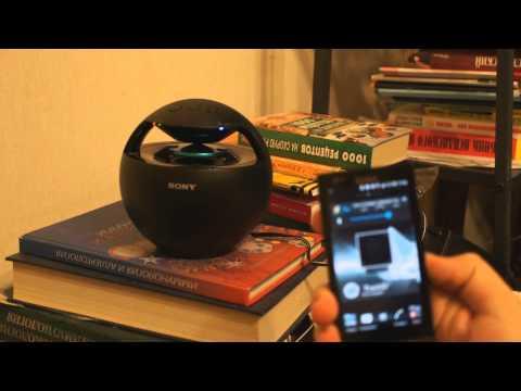 Обзор колонки Sony SRS-BTV25: портативная акустика (review)