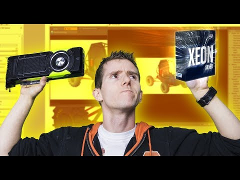 3D Modeling & Design – Do you REALLY need a Xeon and Quadro??