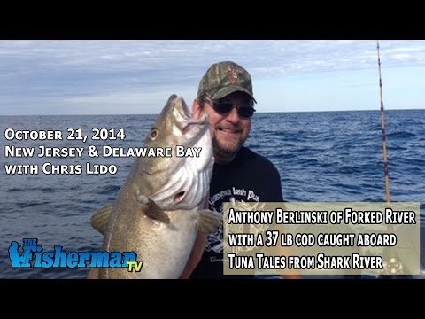 October 21, 2014 New Jersey/Delaware Bay Fishing Report with Chris Lido