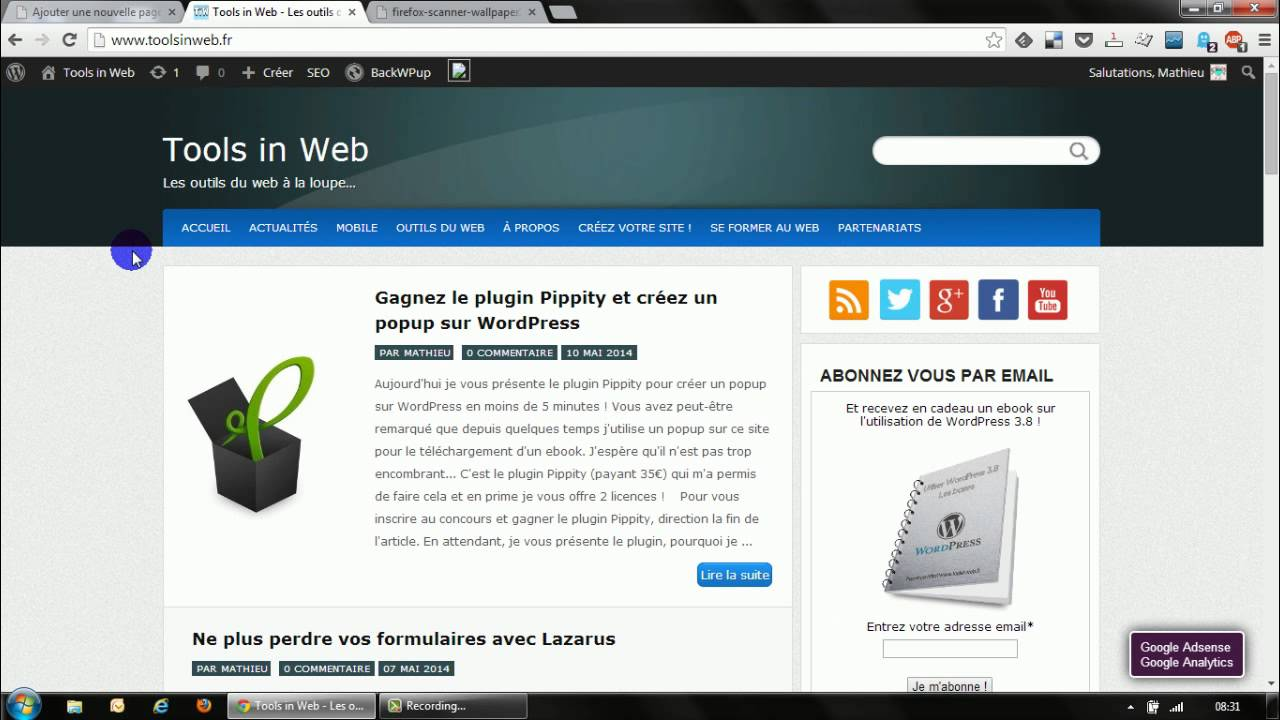 comment demarrer avec wordpress