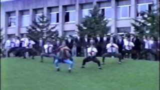 College days at I.C.U. Mitaka, Tokyo, Japan FIRST MEN'S DORM BAKAYAMA 8 Man Dance!