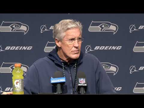 Seahawks Head Coach Pete Carroll Week 16 Wednesday Press Conference