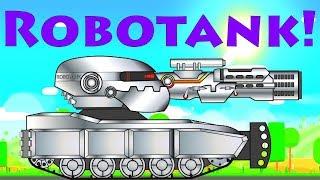 Super Tank Rumble Creations - Monster ROBOTANK!