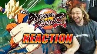 MAX REACTS: Dragon Ball Fighter Z - Gameplay Reveal
