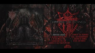 WOE BETIDE - THRONE OF SPINES [OFFICIAL EP STREAM] (2020) SW EXCLUSIVE