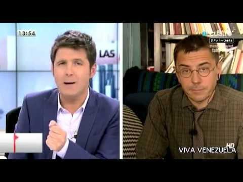 Juan Carlos Monedero. Podemos contra Willy Toledo y el anticastrista Joaquín Sabina. Casta Wars