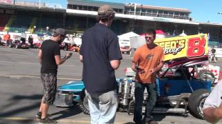 download lagu Oswego Speedway 2012 Isma Winged Super Modified Pit Action gratis