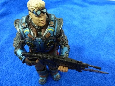 Игрушка солдат Damon Baird Gears of War judgment 7