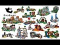 All Lego Minecraft Sets Compilation Lego Speed Build mp3