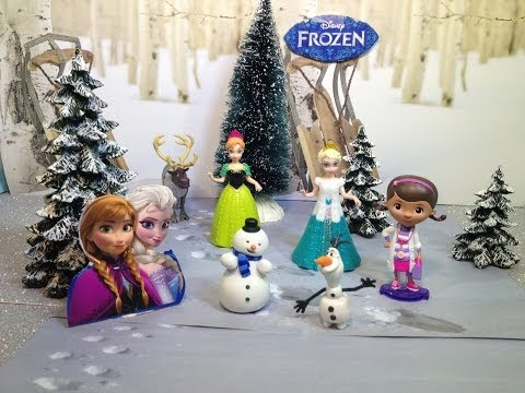 Disney Frozen Olaf Meet Chilly from Disney Junior Doc McStuffins