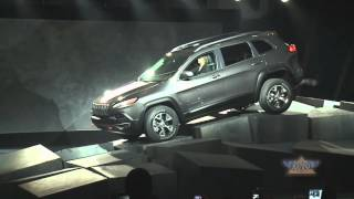 Jeep Cherokee Highlights at 2013 NY Auto Show
