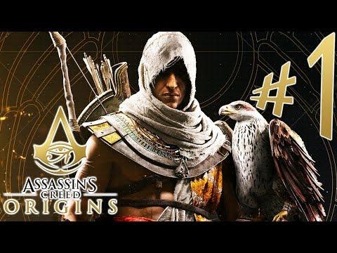 Assassin's Creed Origins - Parte 1: Bayek, o Medjay de Siuá!!! [ PS4 Pro - Playthrough ]