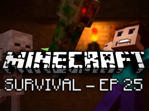 Minecraft: Survival Let's Play Ep. 25 – Leveling Up