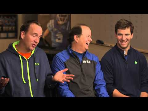 Peyton Manning talks quality time with Eli  60 Minutes Sports  SHOWTIME