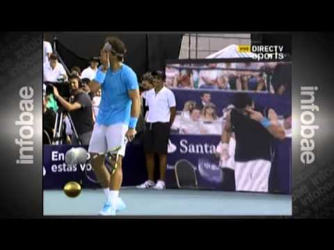 Rafa Nadal vs Novak Djokovic in Argentina highlights: butts, Men in Black, imitations and more