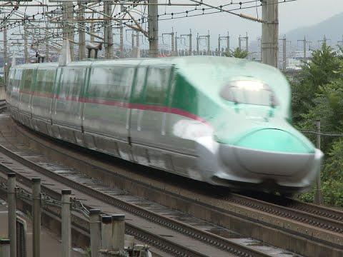 (HD) 東北新幹線・秋田新幹線 はやぶさ・こまち号 (E5系・E6系新幹線電車)  ~Japanese beautiful color Shinkansen~
