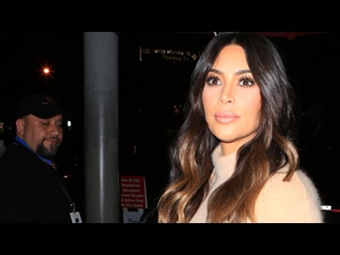Kim Kardashian Captures Attention Outside Craig's