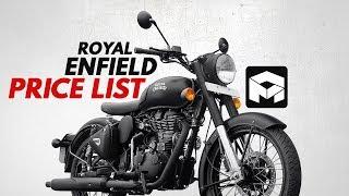 Royal Enfield Price List