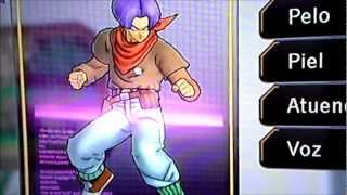 Creating Future Trunks GT in DBZUT (DBZUT Hero Mode)
