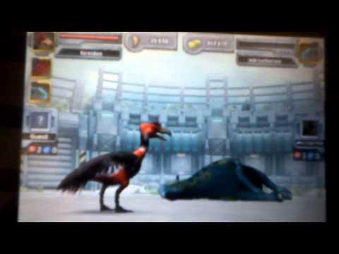 Jurassic Park Builder-Kelenken evolução final