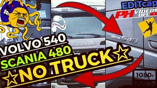 VOLVO FH 540 E Scania 480 NO TRUCK😜🎬😱Será Que Faz Horário