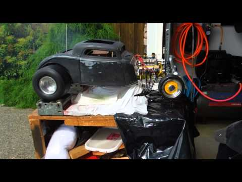 Awesome 1/4-Scale V-8-Powered 1934 Ford R/C Car