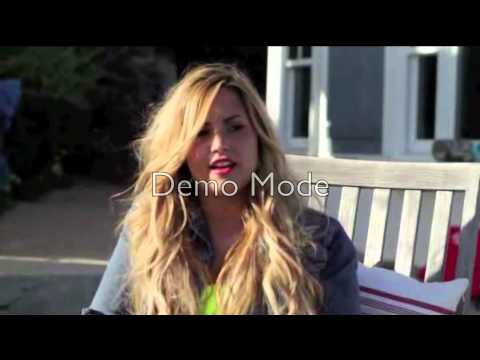 Behind Scenes with Demi Lovato; Self Magazine Music Videos