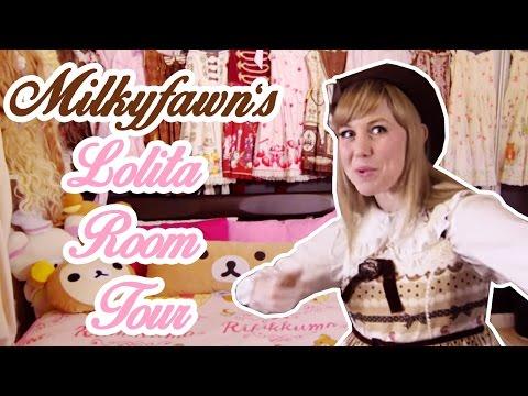 Milkyfawn's Sweet Lolita Room [room Tour] video
