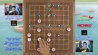 ĐINH XUÂN QUYẾT Hà Nam & NGUYỄN ĐÌNH MẠNH Đấu trường cờ việt 2018