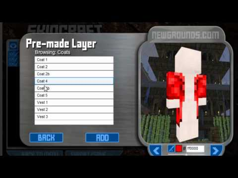 How to make your own minecraft Skin - Online No Download