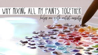 Mixing 120 Watercolor Paints - What Happens?