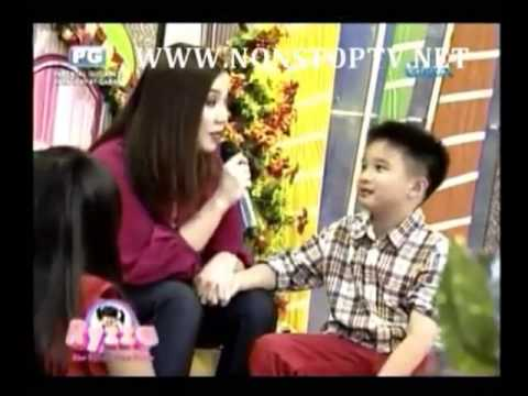 Kris Aquino on The Ryzza Mae Show 12/25/2013 Part 2
