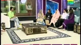 Mahrukh Azhar Khan on HUM TV