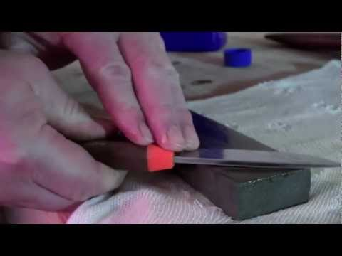 How to sharpen your hunting knife