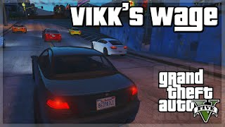 "GTA V - ""Vikk's Wage"" - GTA 5 Funny Moments w/ The Sidemen!"