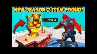 NEW SEASON 2 GOLD ITEMS FOUND!!   Fortnite Funny Fails and WTF Moments!