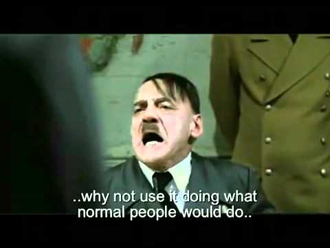 Hitler discovers TG Tales are fake