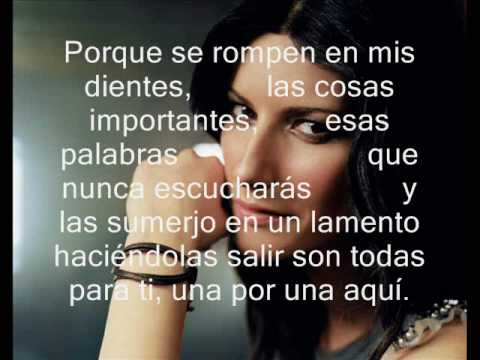 Laura Pausini - En cambio no (lyric)