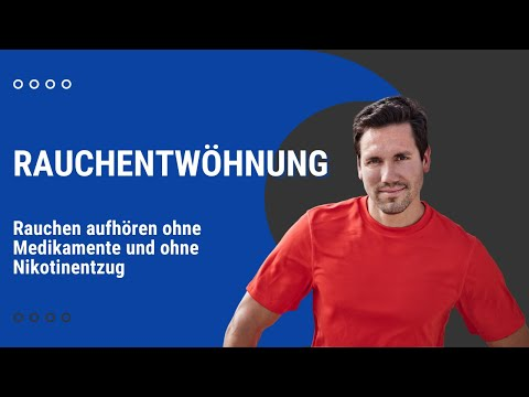Rauchentwöhnung: Rauchen aufhören ohne Medikamente und ohne Nikotinentzug