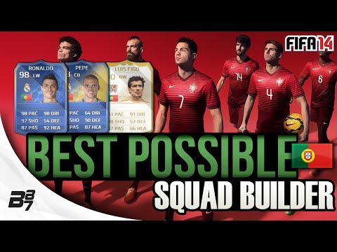 BEST POSSIBLE PORTUGAL TEAM! w/ TOTY RONALDO | FIFA 14 Ultimate Team Squad Builder