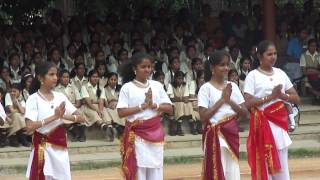 Parama Gurup - Pooja APS Dance for Independence day.MP4