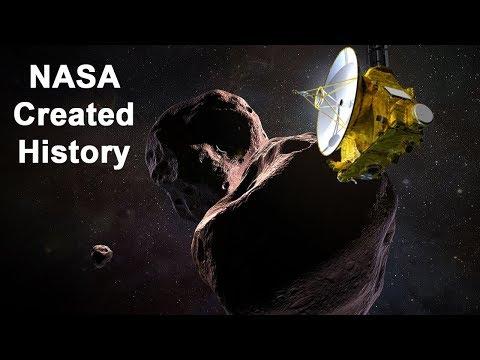 न्यू होराइजंस पहुंचा रहस्यमयी ग्रह अल्टिमा थुली पर| NASA's New Horizons Has Reached Ultima Thule