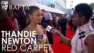 Thandie Newton talks about her Leading Actress Nomination | BAFTA TV Awards 2018