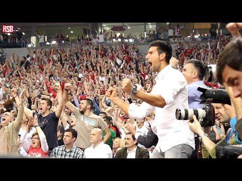 Novak Djokovic bodri Zvezdu | Crvena zvezda - Uniks 63:52