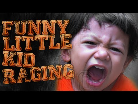 Eight Year Old Kid Talks Trash Funny Little Kid Raging