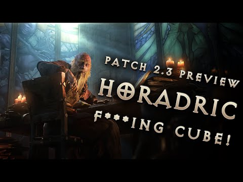 Diablo 3 Patch 2.3 Announced - Horadric F***ing Cube!