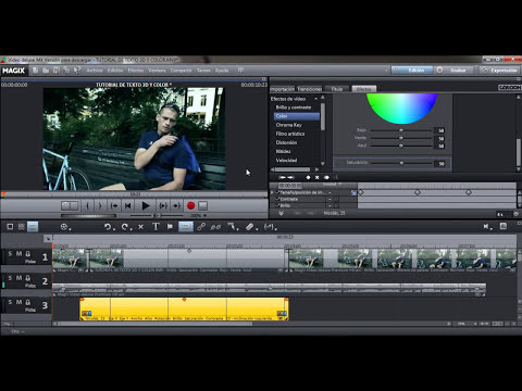 Tutorial Magix Video Deluxe: Texto 3D con animación