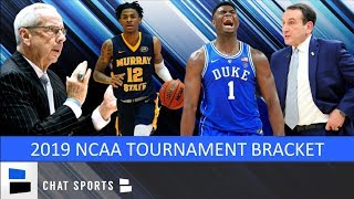 March Madness: 2019 NCAA Tournament Bracket
