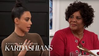 Kim Kardashian Tells How She Pleaded Alice's Case to President Trump | KUWTK | E!