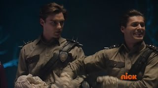 """Power Rangers Dino Super Charge """"Trick or Trial"""" - Kendall's Plan (Halloween Special)"""